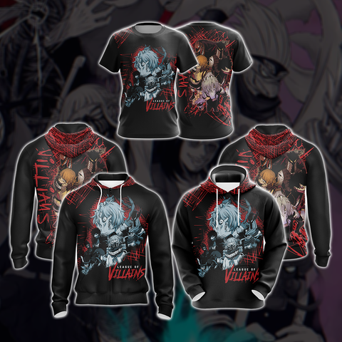 My Hero Academia Villian Group Unisex 3D Hoodie