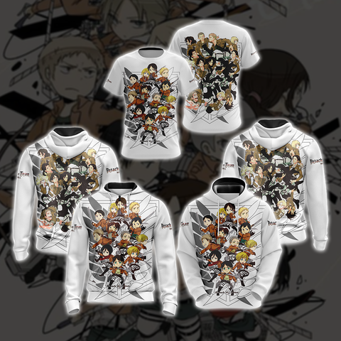 Attack on Titan New Unisex 3D T-shirt