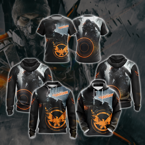 Tom Clancy's The Division New Style Unisex Zip Up Hoodie