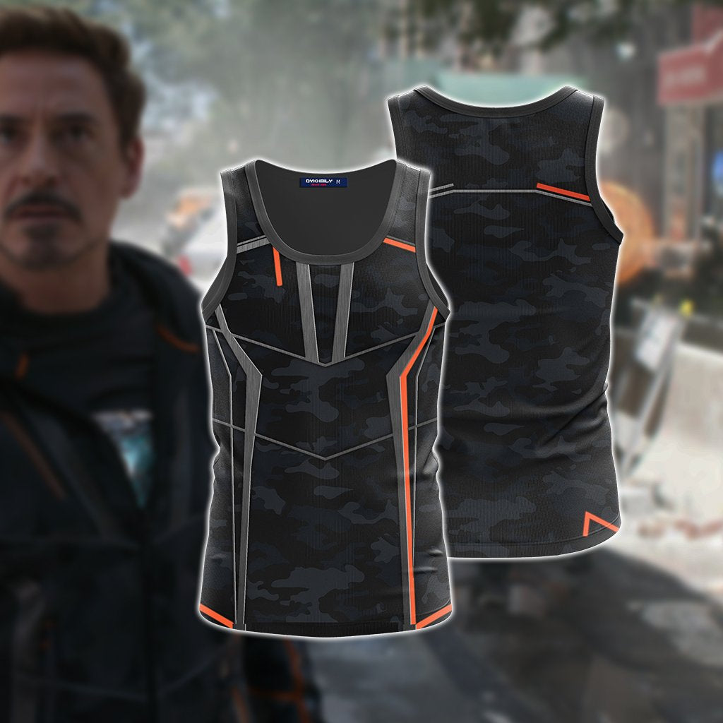 Iron Man (Tony Stark) Cosplay 3D Tank Top