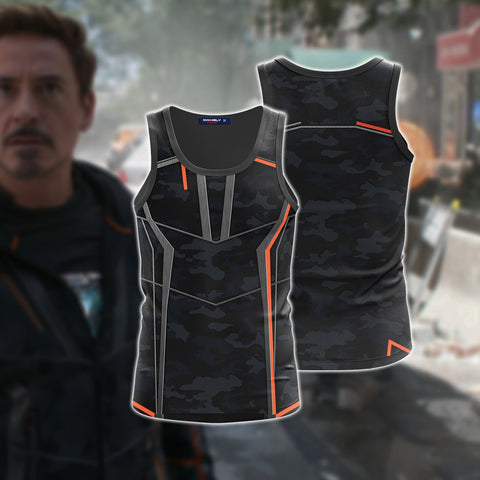 Image of Iron Man (Tony Stark) Cosplay 3D Tank Top