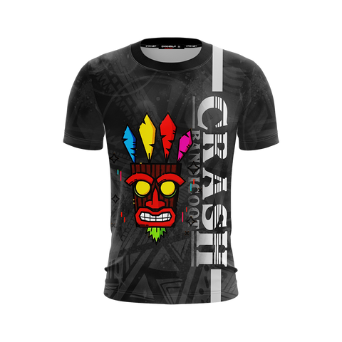 Crash Bandicoot - Aku Aku Unisex 3D T-shirt