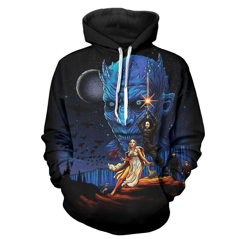 Game Of Thrones 3D Hoodie