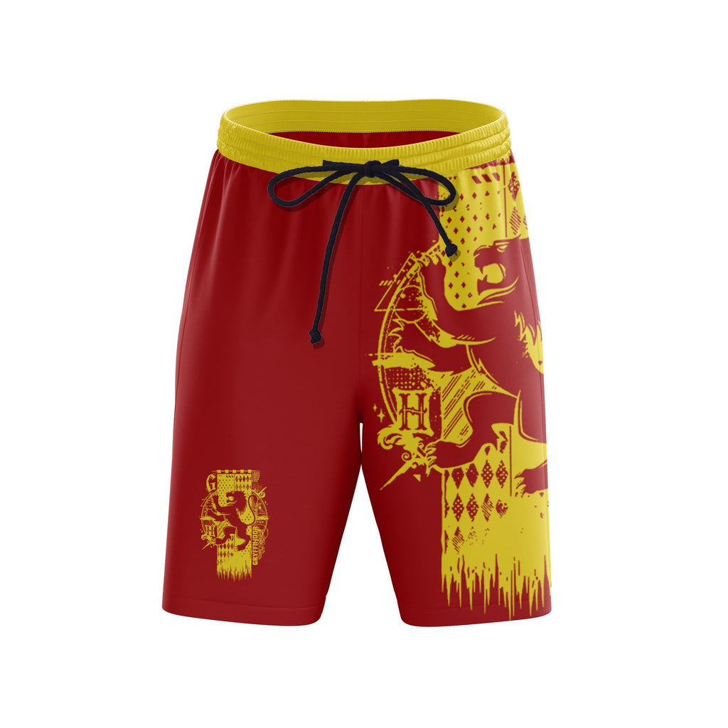 Quidditch Gryffindor Harry Potter Beach Short