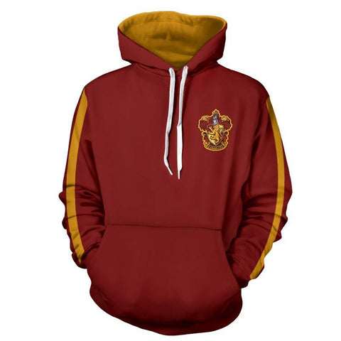 Gryffindor Quidditch Team Harry Potter Hoodie