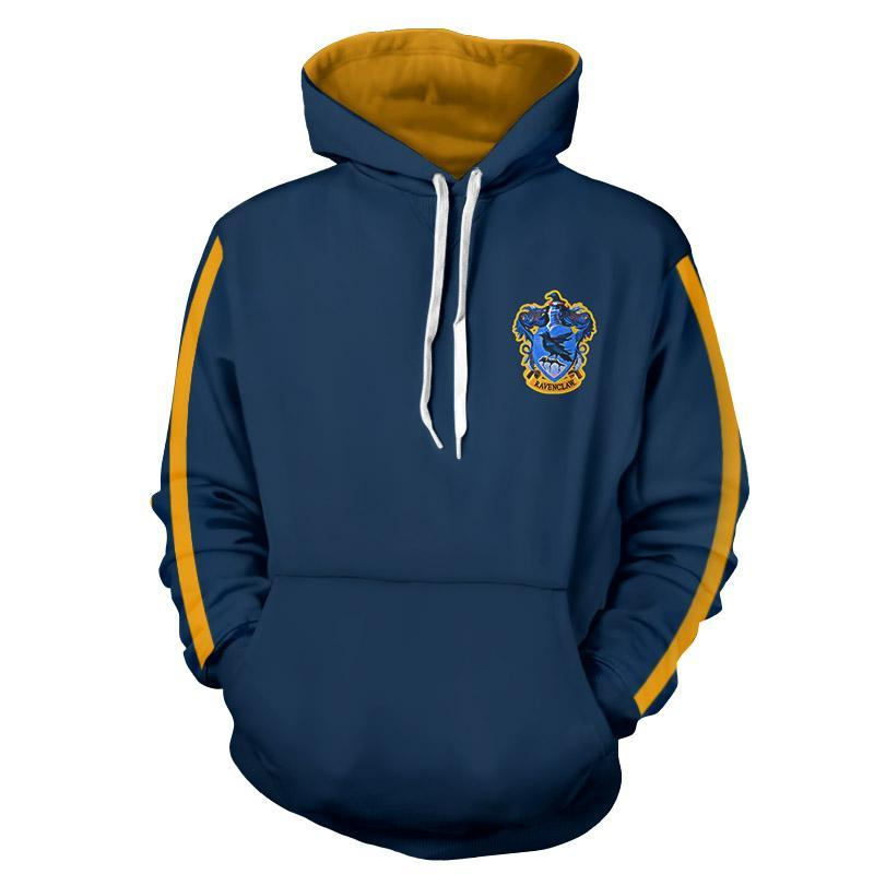 Ravenclaw Quidditch Team Harry Potter Hoodie