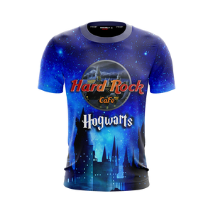 Hard Rock Cafe Hogwarts Harry Potter Unisex 3D T-shirt