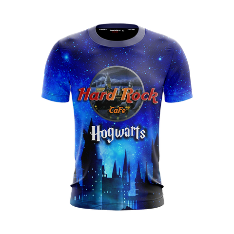 Image of Hard Rock Cafe Hogwarts Harry Potter Unisex 3D T-shirt