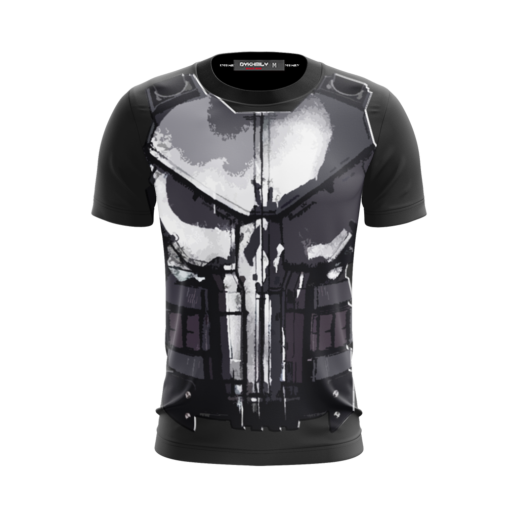 The Punisher (2017) Cosplay Unisex 3D T-shirt