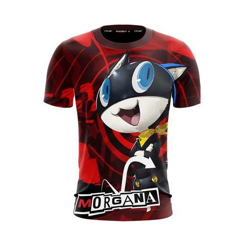 Image of Persona 5 Morgana Unisex 3D T-shirt