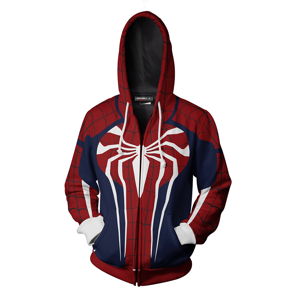Spider-Man Suit Zip Up Hoodie