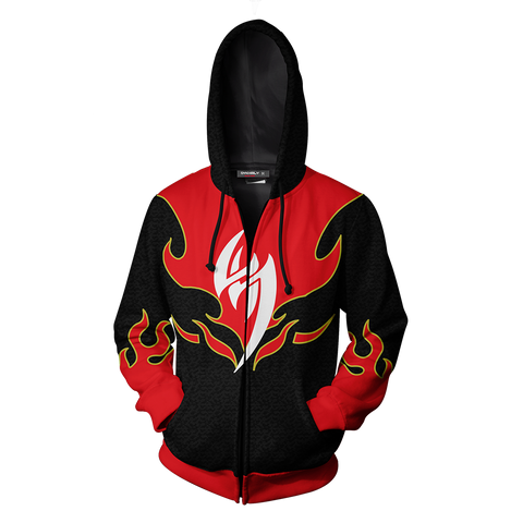 Image of Tekken - Jin Kazama Cosplay Zip Up Hoodie Jacket