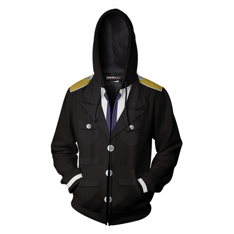 Image of Noragami Kazuma Cosplay Zip Up Hoodie Jacket