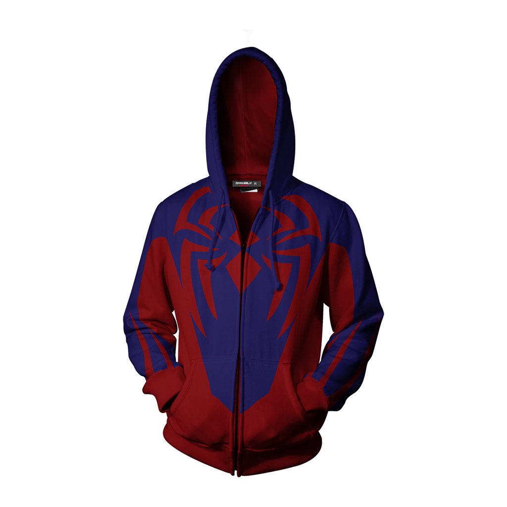 Scarlet Spider (Ben Reilly) Cosplay Zip Up Hoodie Jacket