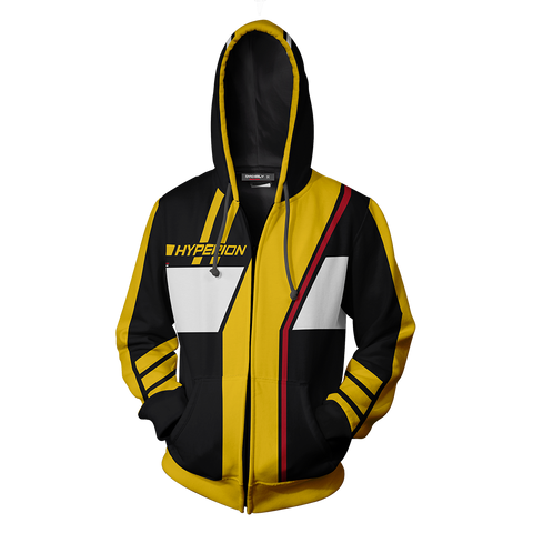Image of Borderlands Hyperion Zip Up Hoodie