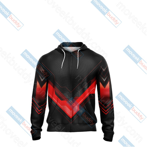 Fire Emblem Version 2 Unisex Zip Up Hoodie Jacket