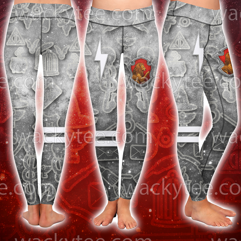 Gryffindor Logo Harry Potter New Collection 3D Leggings