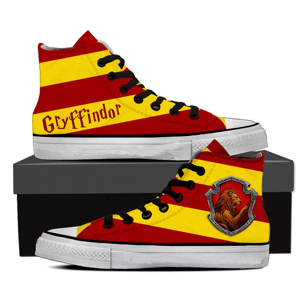 Gryffindor House Harry Potter High Top Shoes