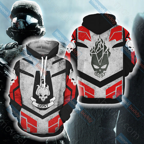 Halo - ODST Unisex 3D Hoodie