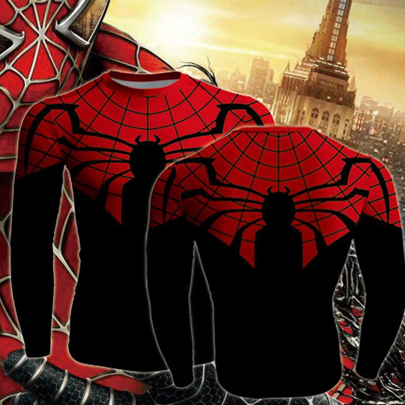 Superior Spider-Man Long Sleeve Compression T-shirt