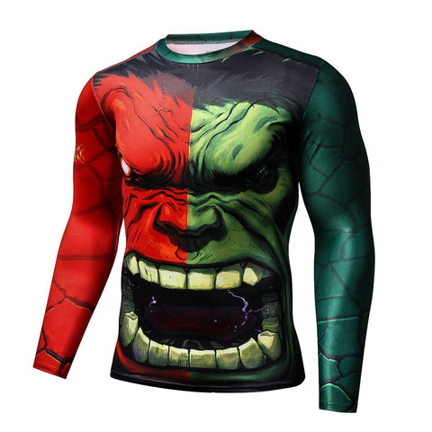 Image of The Hulk Long Sleeve Compression T-shirt