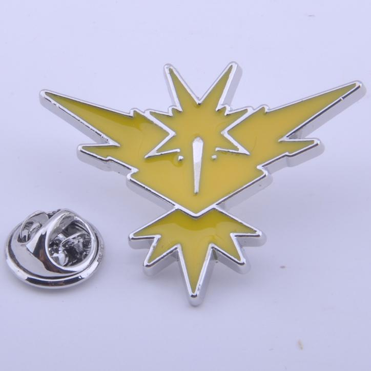 Pokemon Go Team Badge Pins