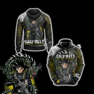 Call of Duty Game - Goku Unisex 3D Hoodie