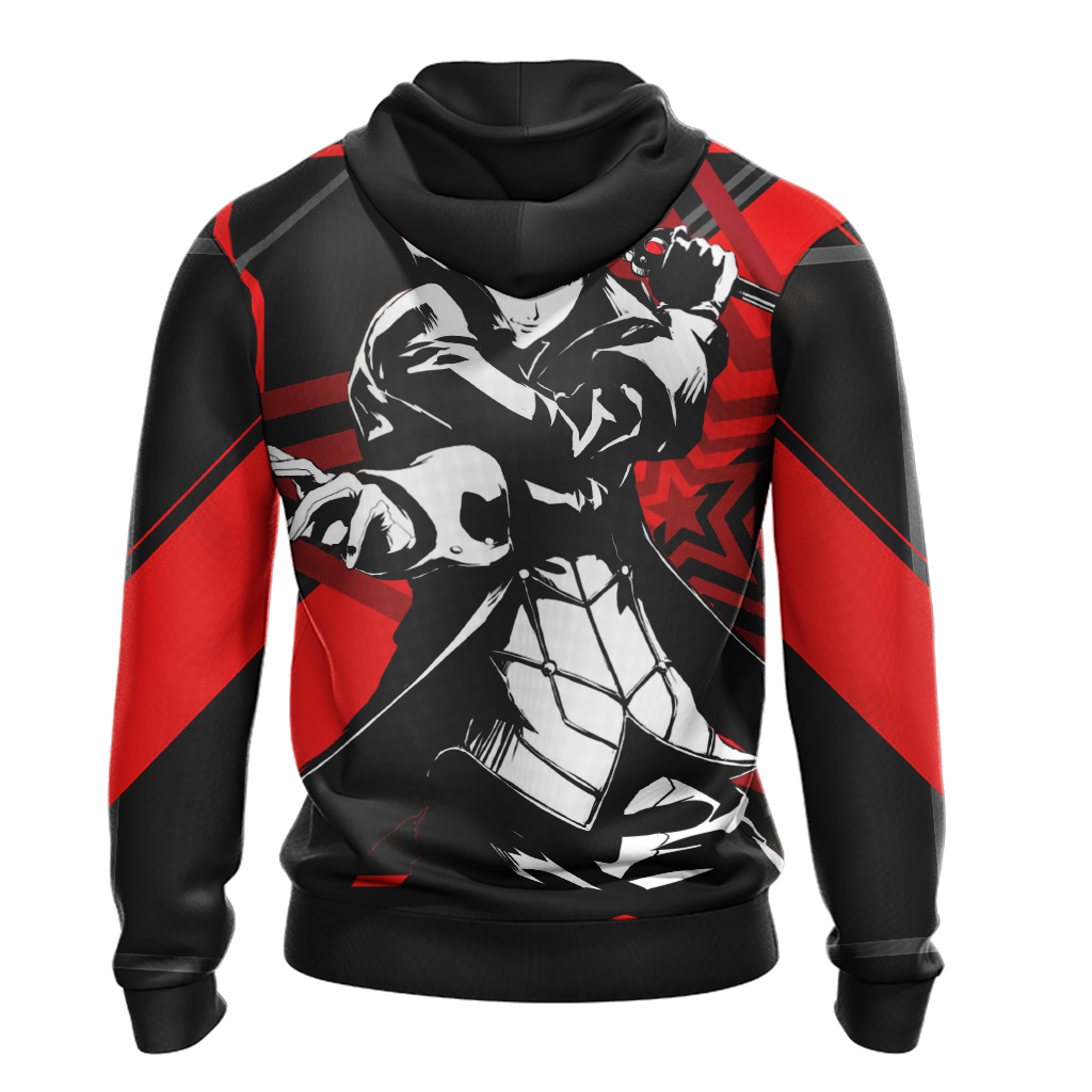 Persona 5 - Joker New Version Unisex Zip Up Hoodie