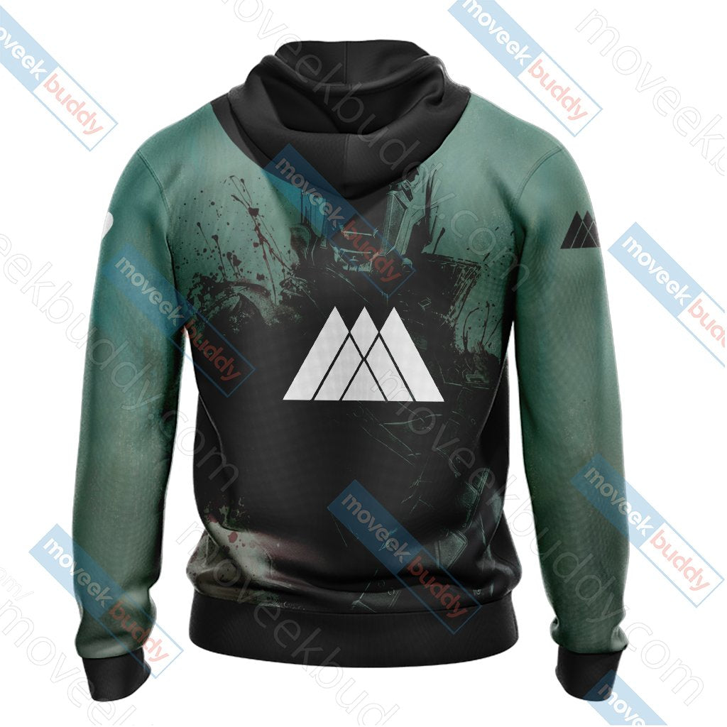 Destiny 2 - Warlock New Version Unisex 3D Hoodie