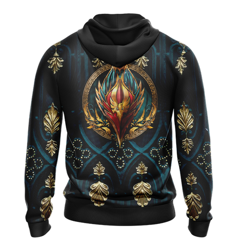 World Of Warcraft - Blood Elf Alliance Races Crest Unisex 3D Hoodie