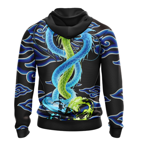Overwatch Dragons Zip Up Hoodie