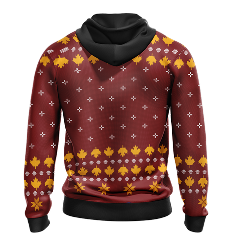 Image of Letterkenny Knitting Style Unisex 3D Hoodie