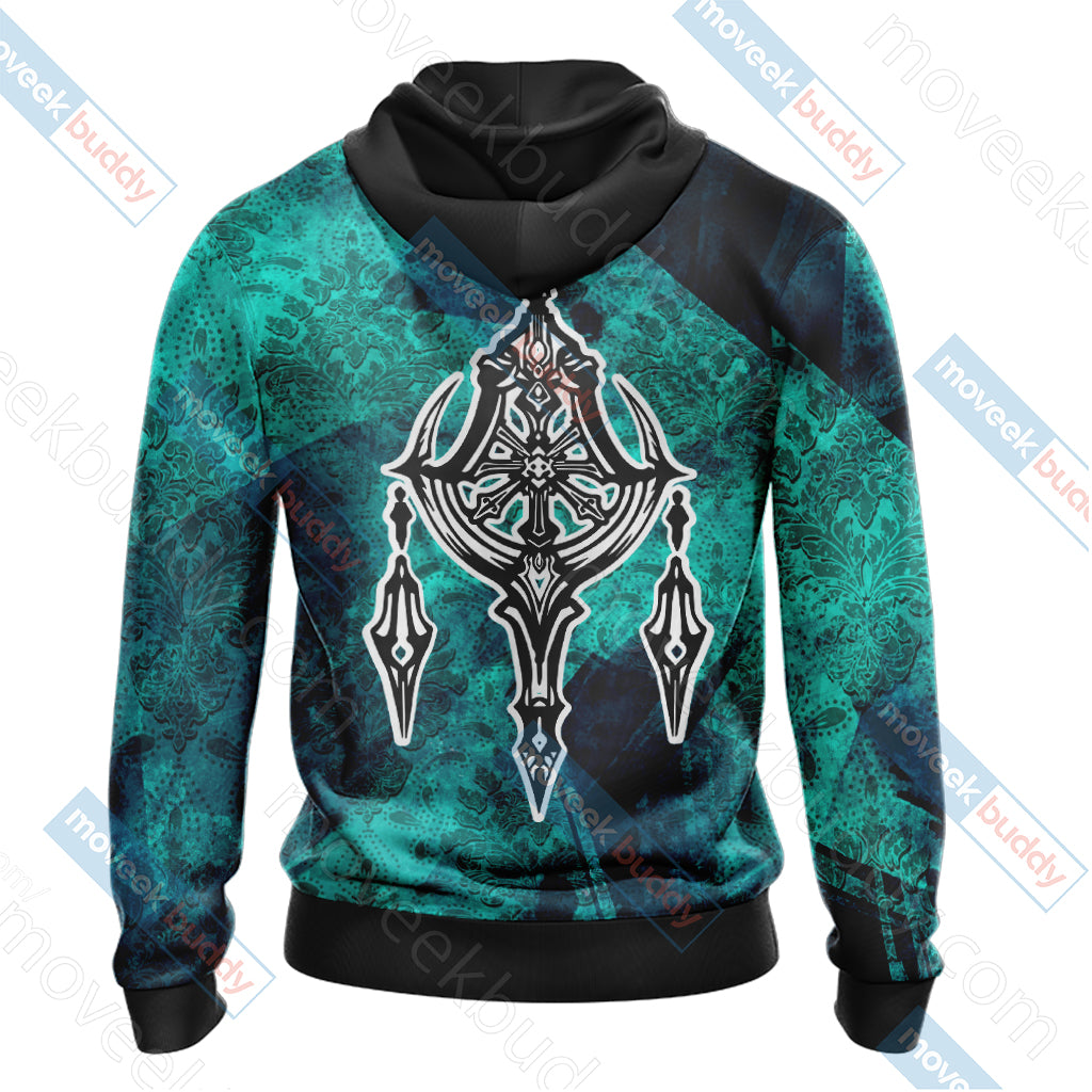 Final Fantasy XII - Esper Symbol Unisex Zip Up Hoodie Jacket