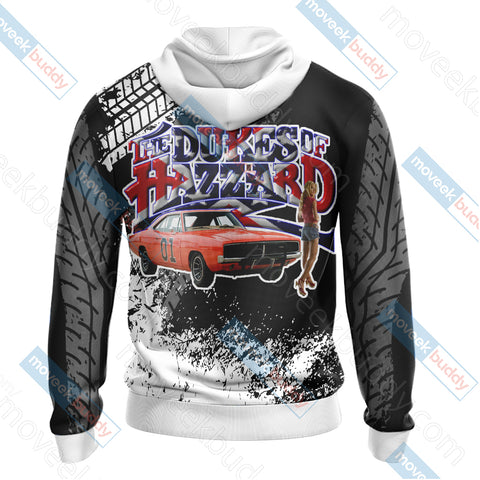 Image of The Dukes Of Hazzard New Unisex Zip Up Hoodie Jacket