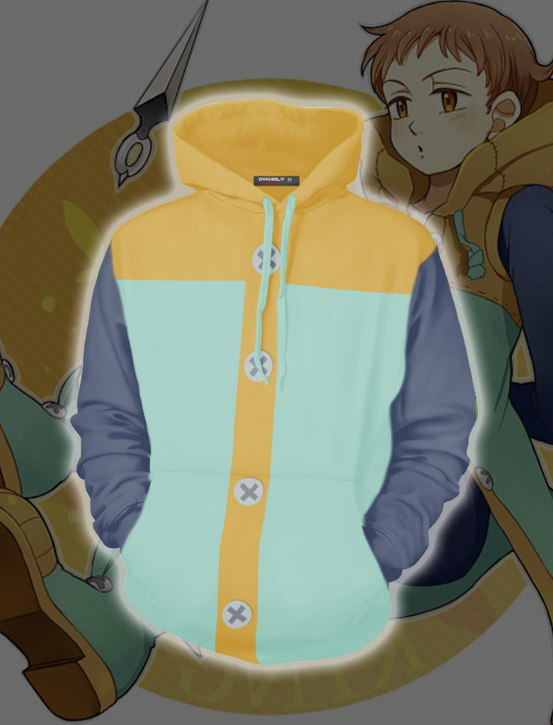 King Cosplay Nanatsu No Taizai (The Seven Deadly Sins) 3D Hoodie