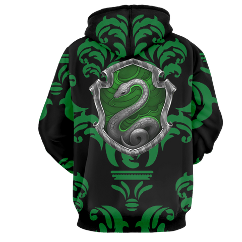 Image of Cunning Like A Slytherin Harry Potter New Collection 3D Hoodie