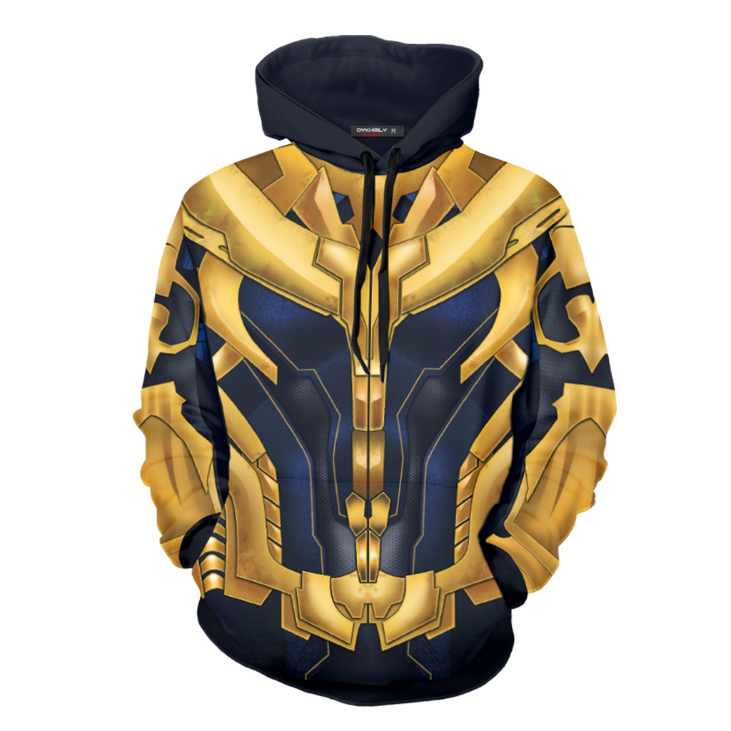 Thanos Cosplay 3D Hoodie