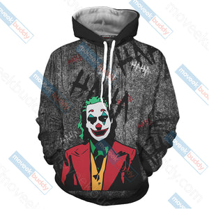 Joker - One bad day can change everything Unisex 3D Hoodie