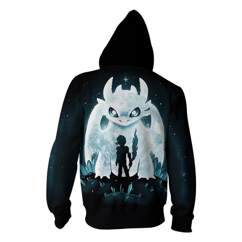 Image of How To Train Dragon Zip Up Hoodie