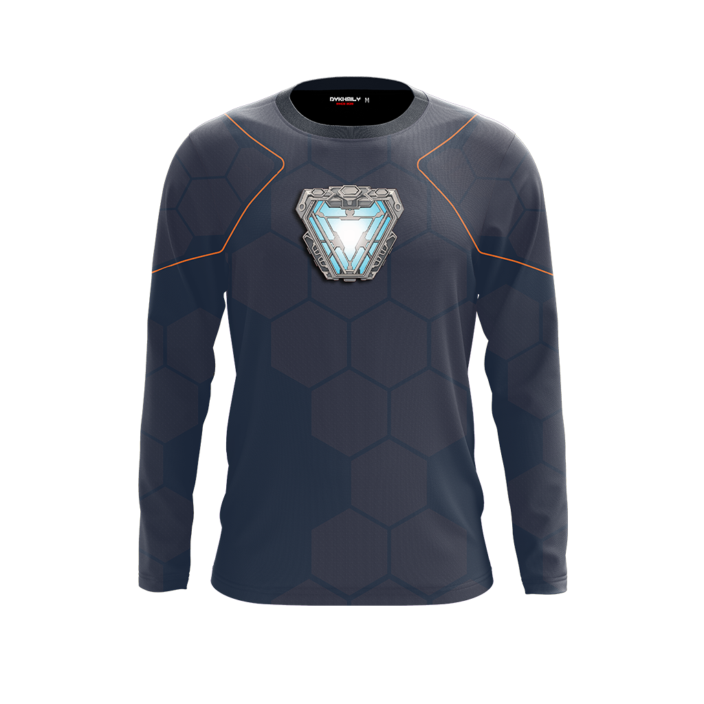 Iron Man (Tony Stark) Cosplay 3D Long Sleeve Shirt