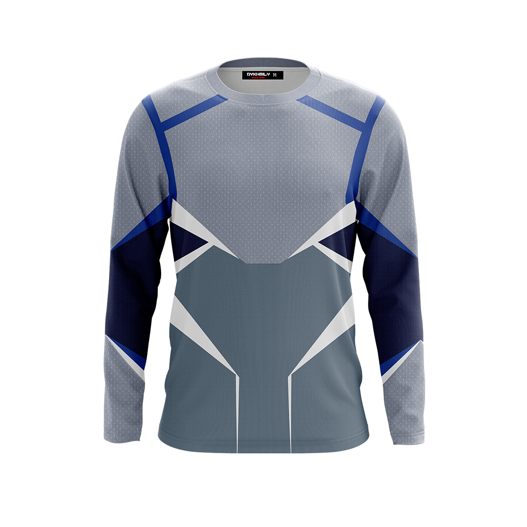 Quicksilver (Pietro Maximoff) Cosplay 3D Long Sleeve Shirt