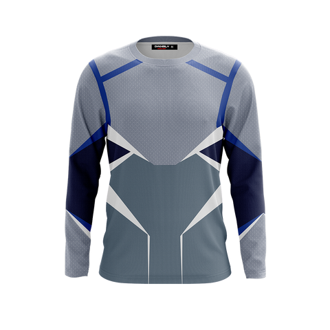 Image of Quicksilver (Pietro Maximoff) Cosplay 3D Long Sleeve Shirt