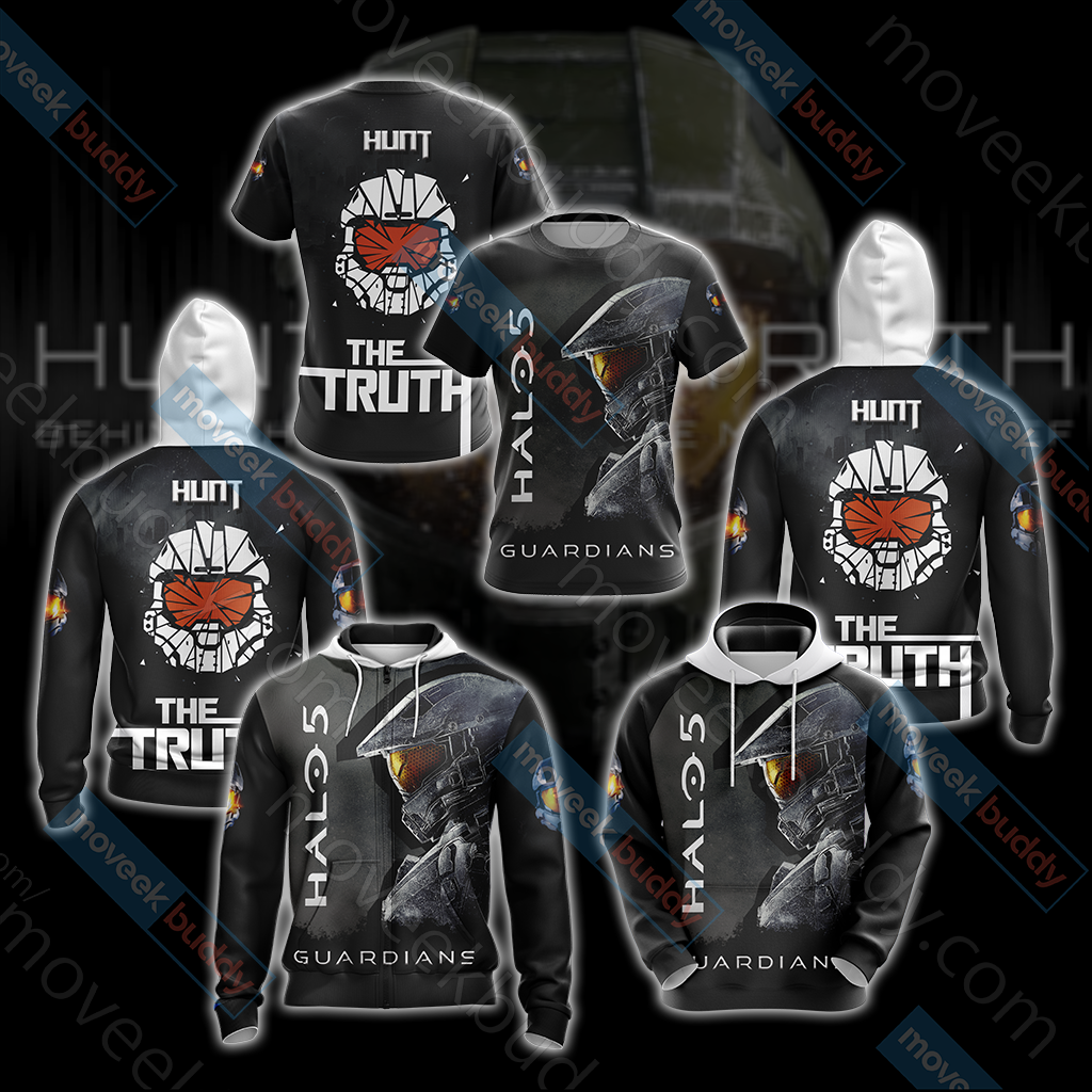 Halo 5: Guardians - Hunt The Truth Unisex 3D T-shirt