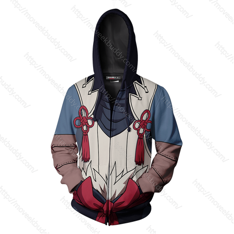 Image of Fire Emblem Takumi Cosplay Zip Up Hoodie Jacket