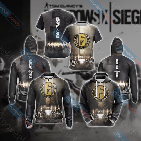 Image of Tom Clancy's Rainbow Six Siege Unisex 3D T-shirt