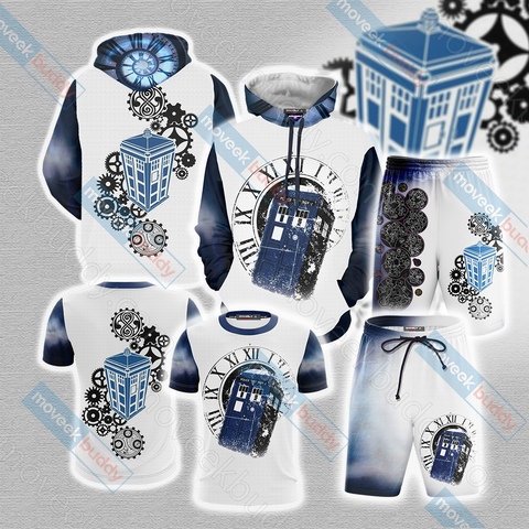 Doctor Who Tardis New Unisex 3D T-shirt