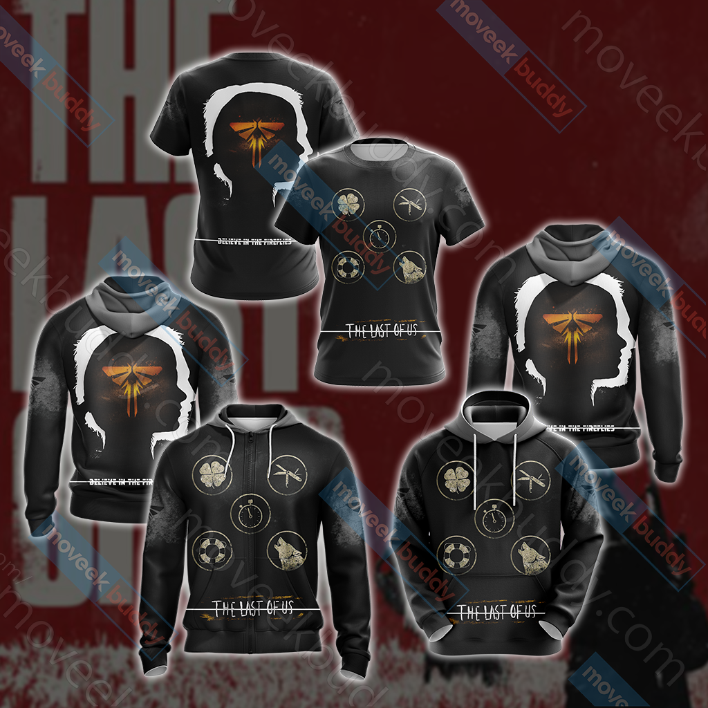 The Last of Us New Style Unisex Zip Up Hoodie Jacket