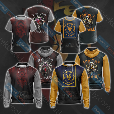 Image of World Of Warcraft - For The Horde Unisex 3D T-shirt