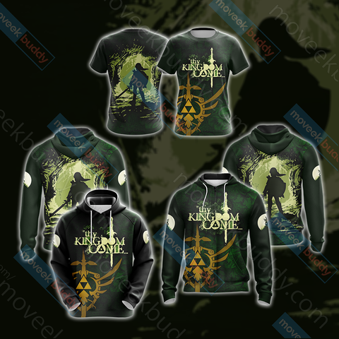 Image of The Legend of Zelda New Collection Unisex 3D T-shirt