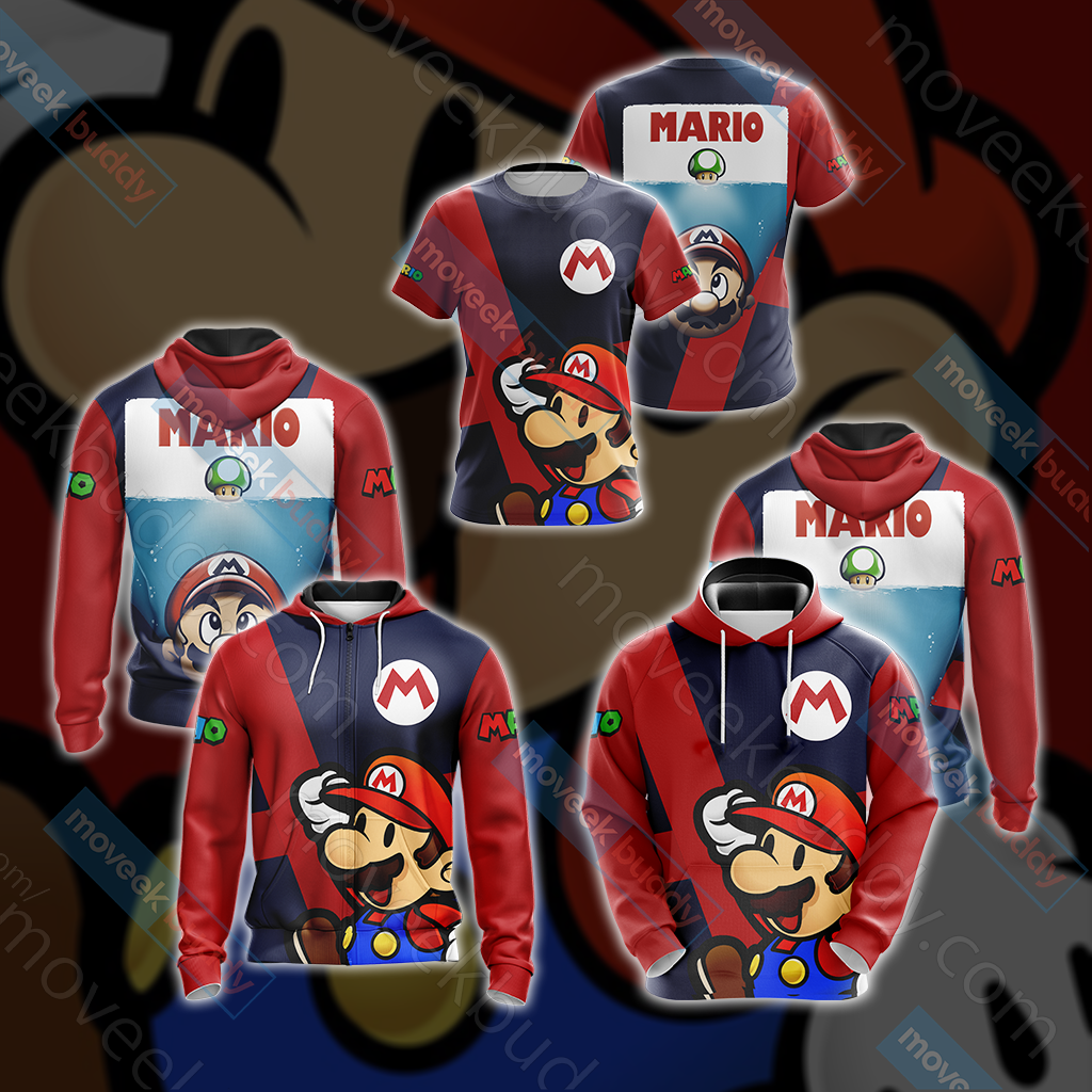 Mario New Collection Unisex 3D Hoodie